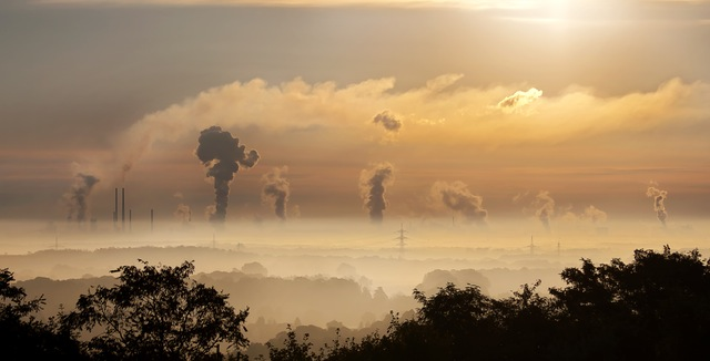 industry-sunrise-clouds-fog-39553